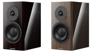 "Dynaudio Special Forty in ""Black Vine"" and ""Ebony Wave"""
