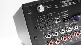 Cambridge Audio AXR100D Inputs