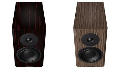 "Dynaudio Special Forty in ""Black Vine"" and ""Ebony Wave"