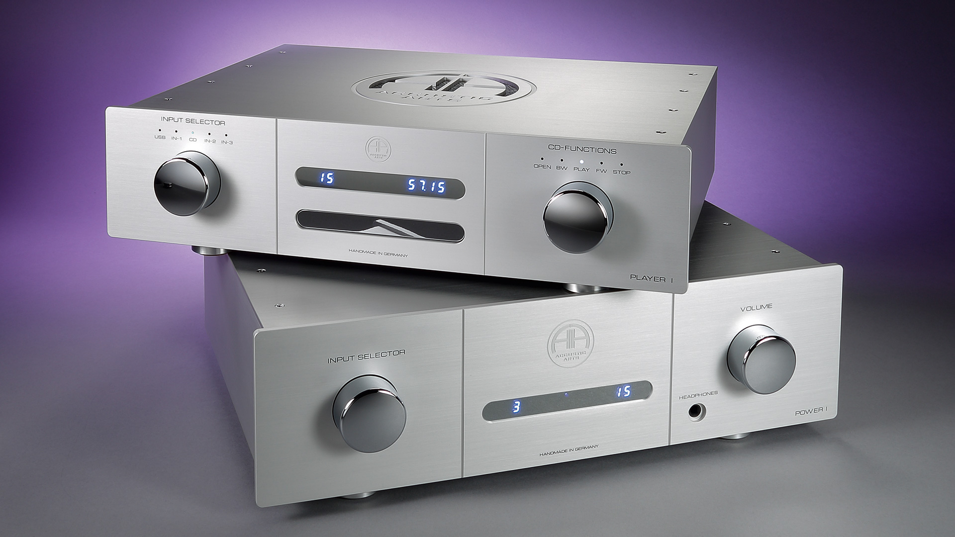 Accustic Arts PLAYER I & POWER I | STEREO