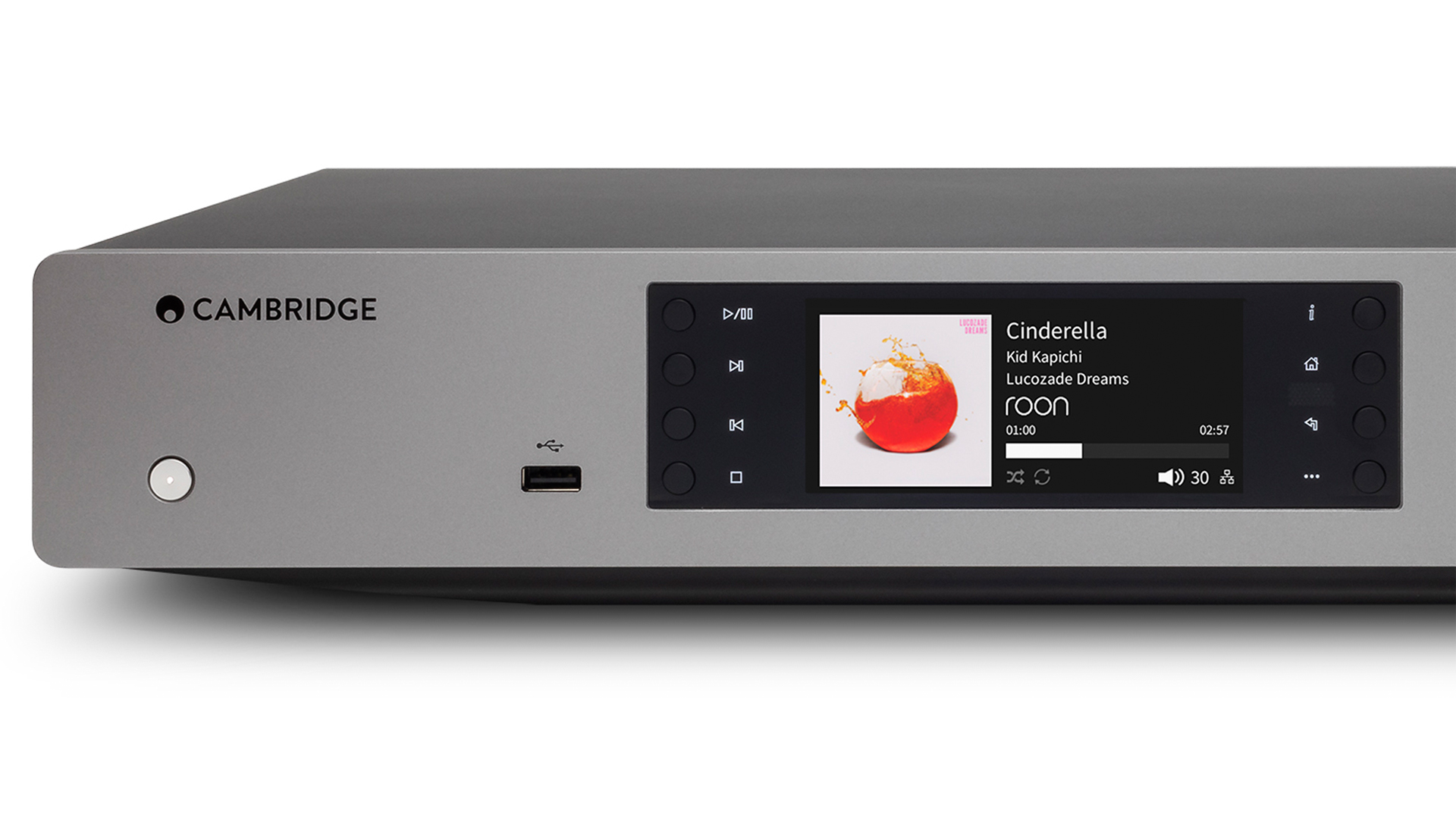 Cambridge's CXN (V2) receives music from Roon (Image: Cambridge Audio)