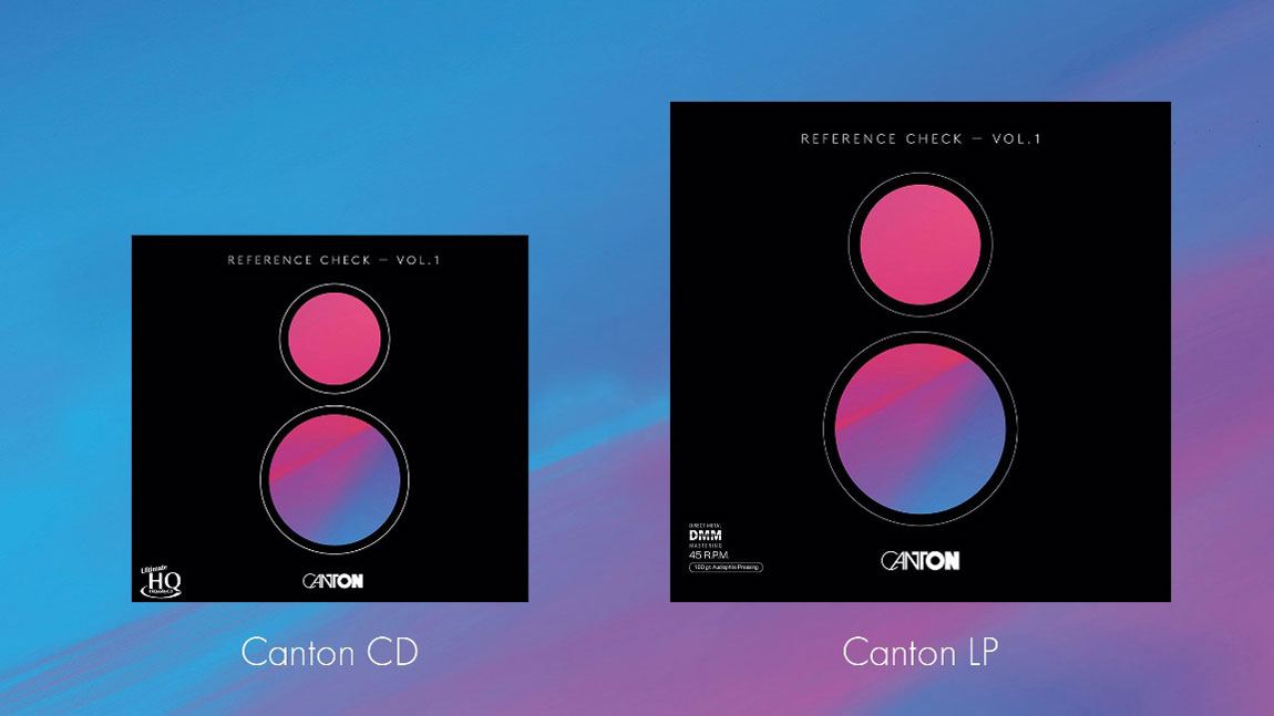 Canton Reference Check Vol. I LP (Image Credit: Canton)
