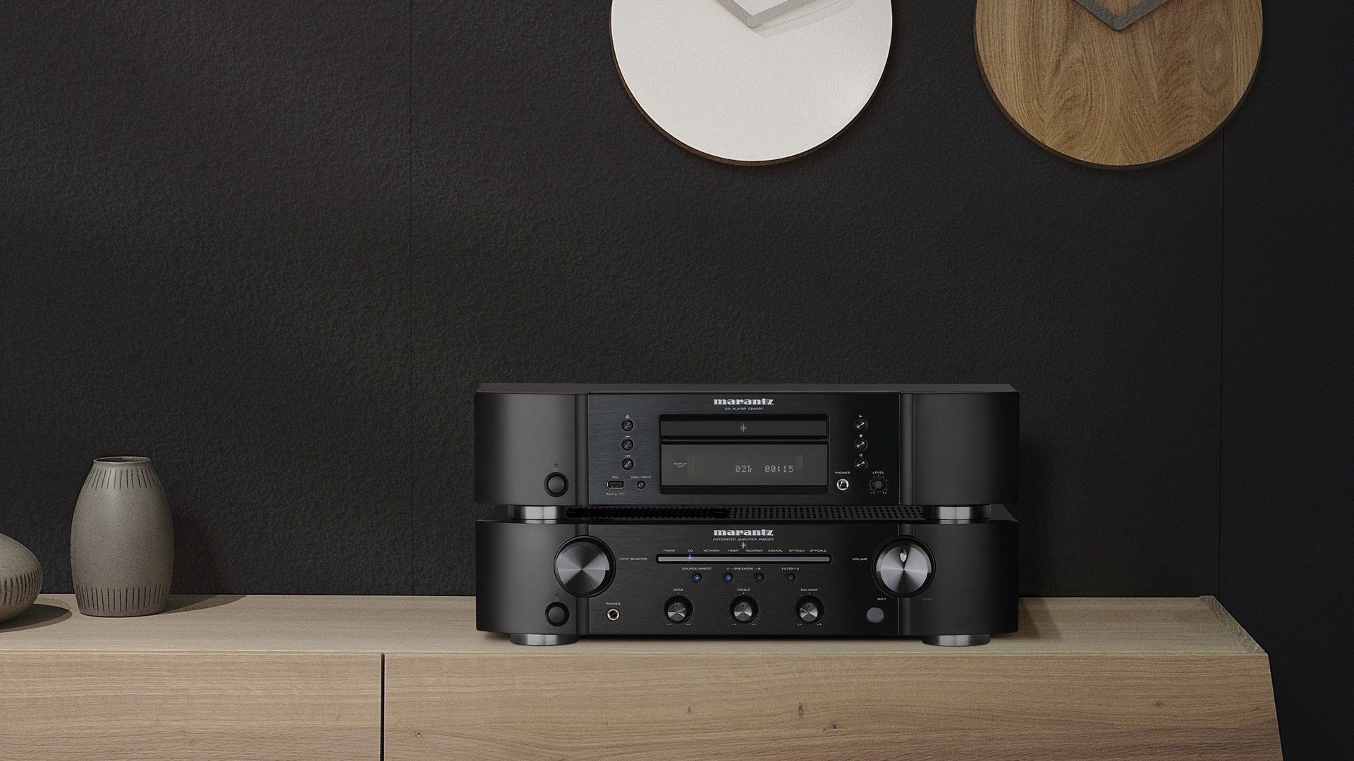 Marantz PM6007 and CD6007 (Image Credit: Marantz/Sound United)