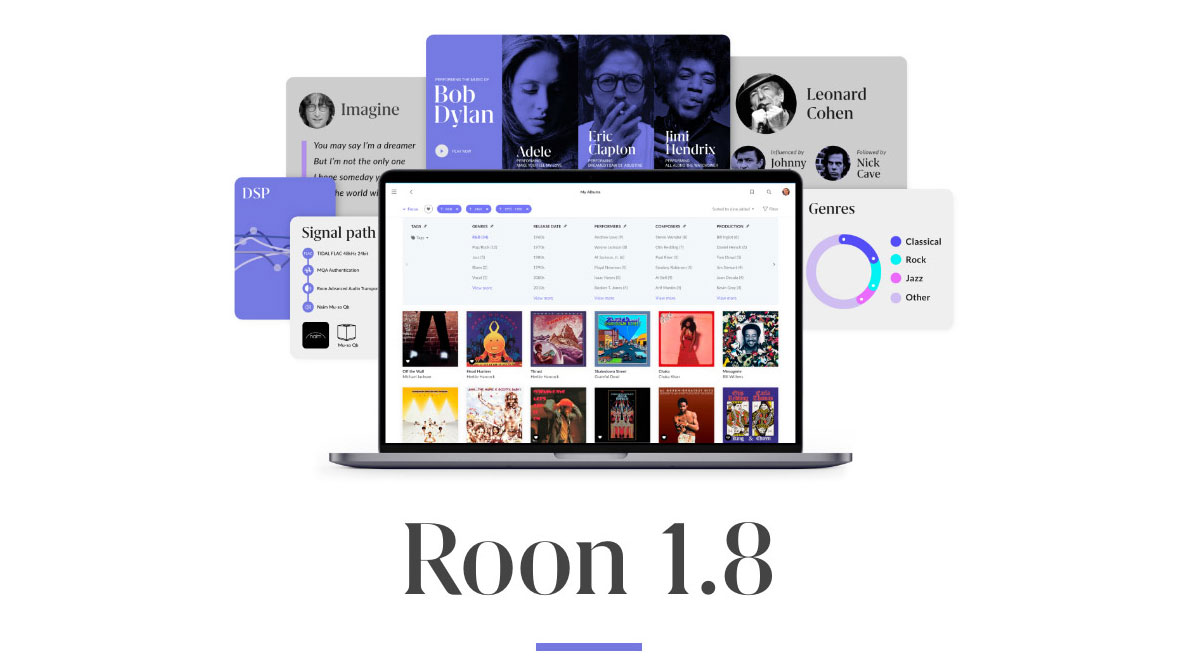Roon 1.8 (Image Credit: Roon)