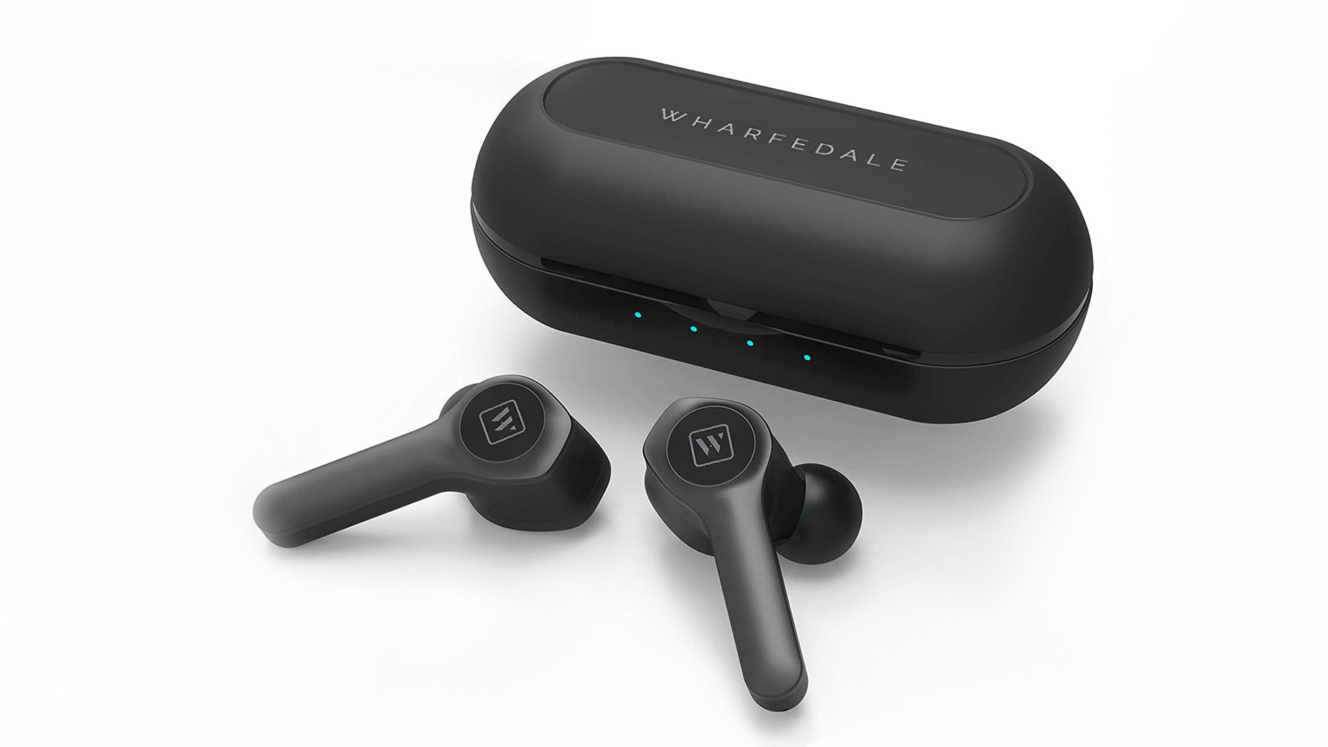 WPods with recharge case (Image: Wharfedale)